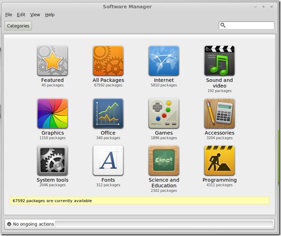 31 Dec 2013 Linux Mint - Software Manager
