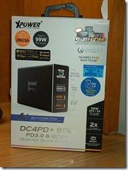 XPower XP-DC4PD+ - BK
